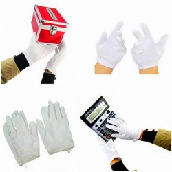 12 Pairs White Industrial Hand Protector Gloves