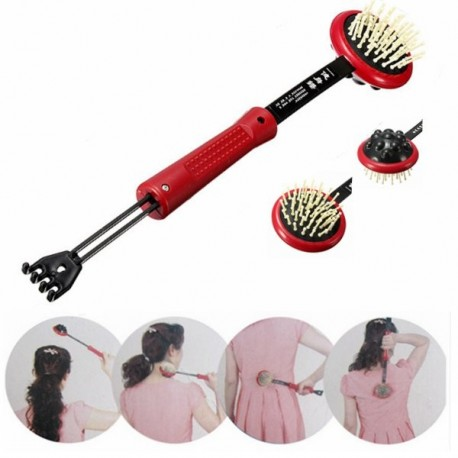 Dual Use Telescopic Back Scratcher Massager