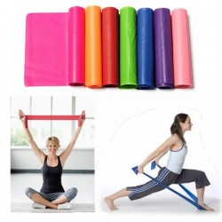 1.5m Yoga Stretch Resistance Exercise Elastic Band