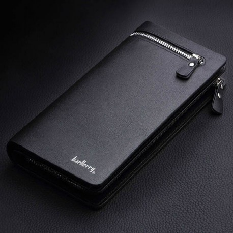 Men Business Cards Holder Leather Purse