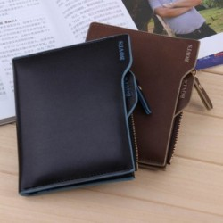 Fashion Men Mini Zipper Closure Wallet