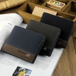 PIDENGBAO Business Casual Short Wallet