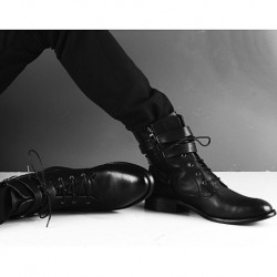 Fashion Leisure Brief Boot Martin Boots Top-shoes Shoes for Men