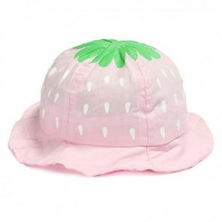Kids Cotton Hat Strawberry in 5 Color