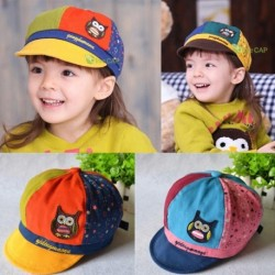 Boys & Girls Cute Owl Print Baseball Cap
