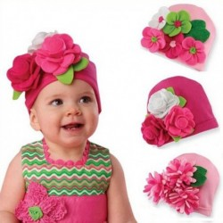 Baby Girl Hat with Handmade Flower