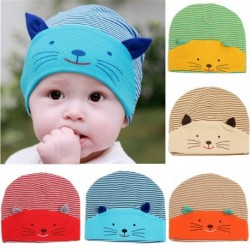 Cute Animal Cat Soft Cotton Hat for Girl & Boys