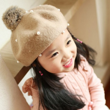 Winter Wool Princess Ball Cap