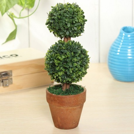 Topiary Tree Artificial Potted Plant