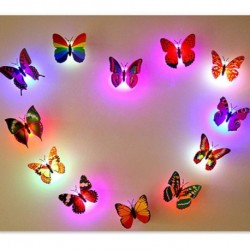 LED Flashing Colorful 3D Butterfly
