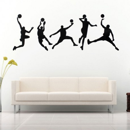 Basketball Wall Stickers 45x126cm