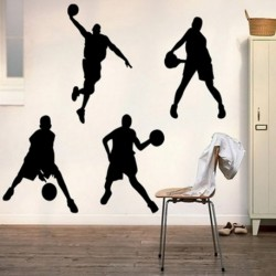Basketball Wall Sticker 23x60cm