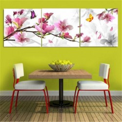 Flower Combination Oil Painting 3Pcs