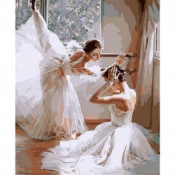 Ballet Oil Painting By Numbers