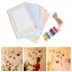 Creative DIY Paper Picture Wall Hanging Frame