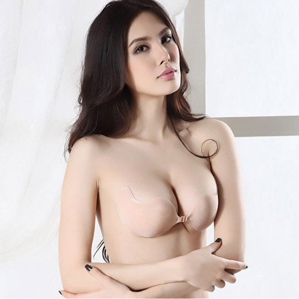 b57821798f Invisible Silicone Half Cup Strapless Push Up Bra - LAZAARA