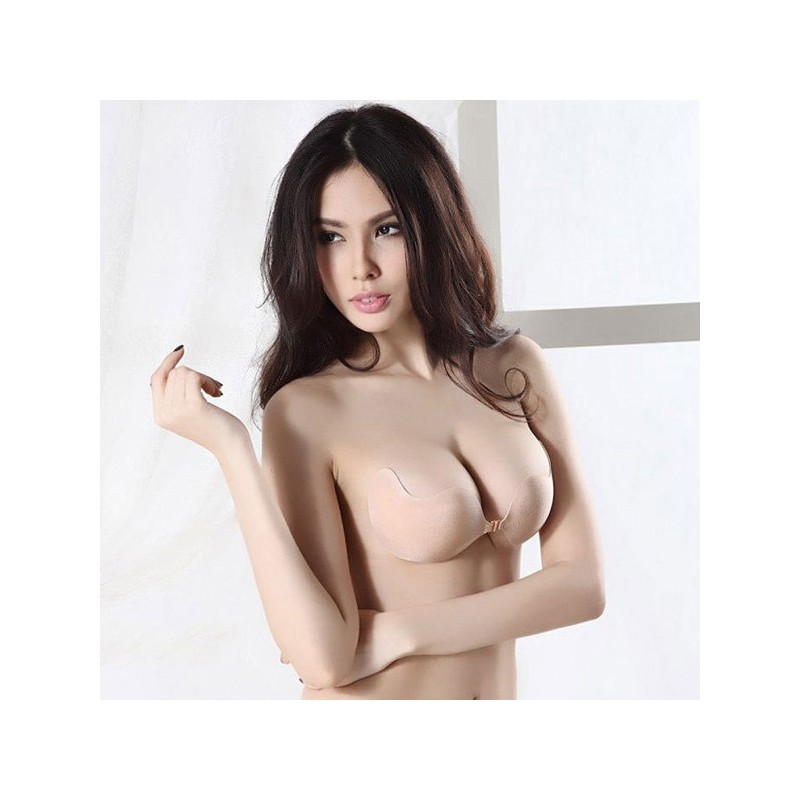 72bb9cc34c Invisible Silicone Half Cup Strapless Push Up Bra - LAZAARA …