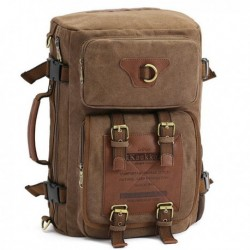 Men's Canvas Army Style Tactical Backpack
