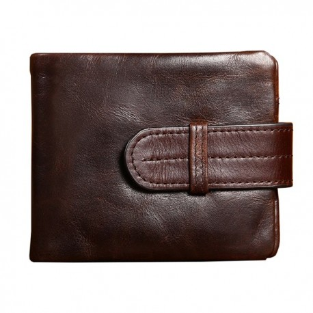 Men Wallet Card Holder Genuine Leather