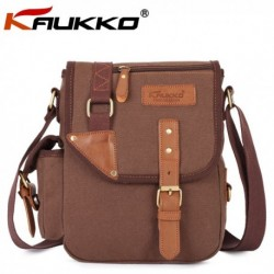 Men & Women Microfibric Leather Leisure Crossbody Bag