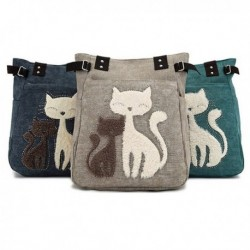 Cute Cat Shoulder Bag Women