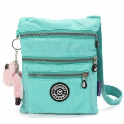 Nylon Waterproof Multi Pocket Shoulder Bag
