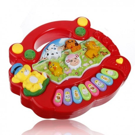 Animal Farm Keyboard Electrical Musical Toy