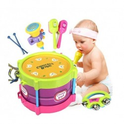 Baby Roll Drum Musical Instruments 5pcs