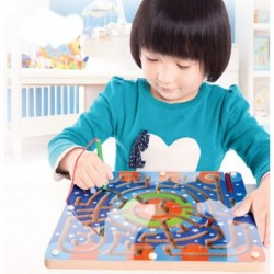 Magnetic Maze Educational Development Toy-Wooden