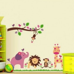 Kid Room Decor Jungle Animals