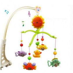 Musical Hanging Rotate Bell Ring Rattle