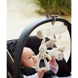 Hanging Bed Rattle Soft Plush Musical Toys
