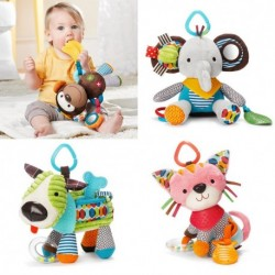 Lovely Animals Plush Bed Rattle