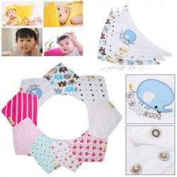 Cotton Bandana Kids Feeding Face Cloth 3Pcs