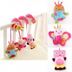 Stroller Bell Rattle Musical Plush Toy