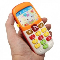 Kid Cellphone Early Toddlers Learning Musical Sound Puzzle