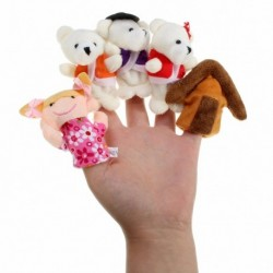 Lovely Plush Hand Finger Puppets