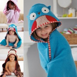 Baby Bath Towel Cotton Hooded With Cartoon