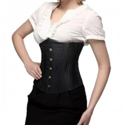 26 Double Steel Boned Waist Training Cincher Plus Size S-6XL